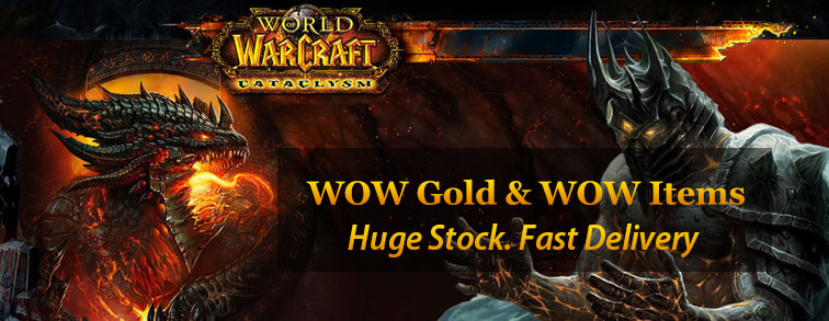 WOW Gold For Sale